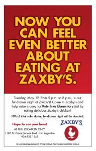 Zaxby's Spirit Night